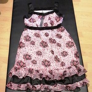 Midi Dress flowery designs